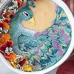 خلق نقاشی هایی جالب با مواد خوراکی توسط زن نیوزلندی!
