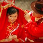 مراسم ازدواج دسته جمعی در چین