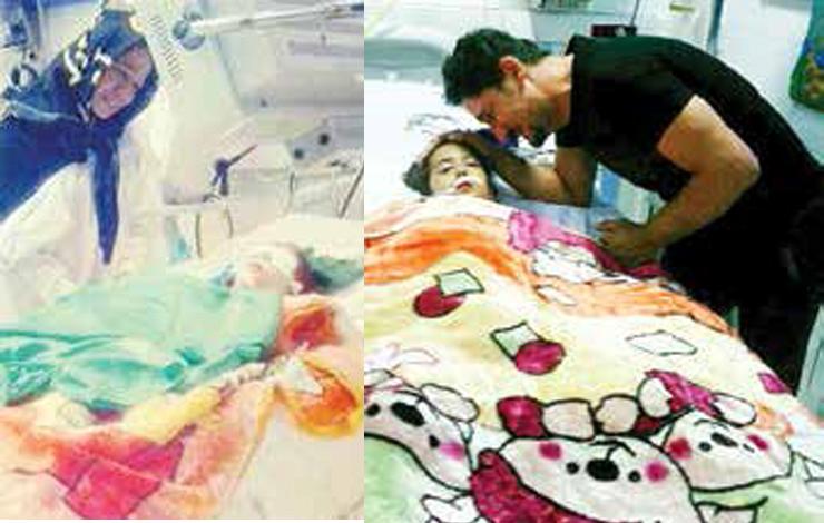 قصور کادر درمان بیمارستان طالقانی در مرگ الینای ۶ ساله تایید شد + عکس