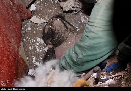 تصاویر مرگ دلخراش کودکان در قم (۱۶+)