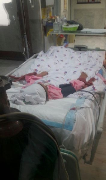 تصاویری دردناک ازدختربچه بی گناه که قربانی سهل انگاری پزشکان شد + تصاویر