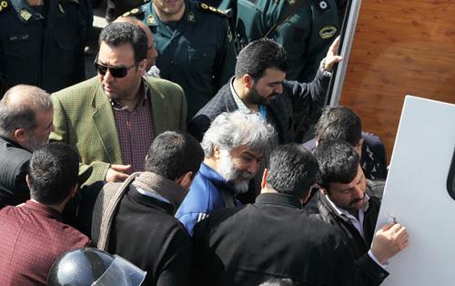 گرداندن اشرار و زورگیران خشن درسطح شهر مشهد + تصاویر