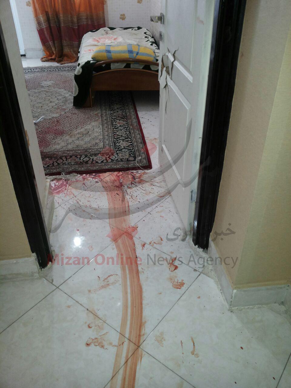 قتل هولناک همسر در تهران به خاطر عضویت در گروه های تلگرامی + عکس