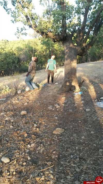 خودکشی عجیب و همزمان دو جوان یاسوجی با طناب دار + عکس
