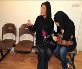 دستگیری دختران خوش تیپ دزد + تصاویر