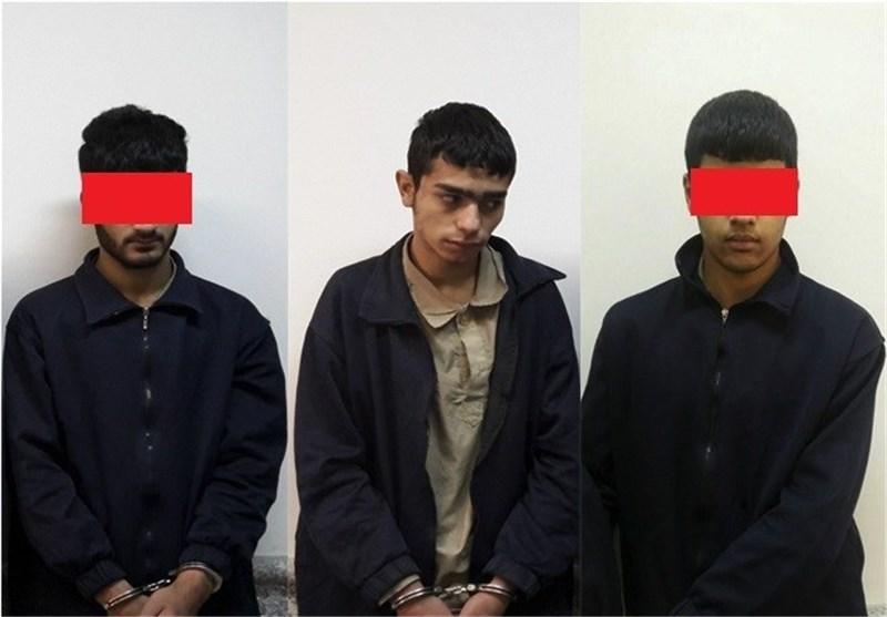 دستگیری متهمان تعرض به پسر جوان در پایتخت +عکس
