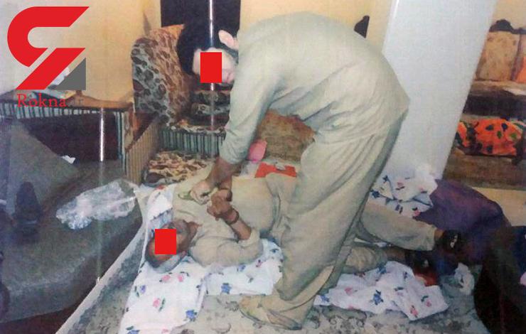 پسری که در اقدامی هولناک سر از بدن اعضای خانواده اش جدا کرد + تصاویر بازسازی صحنه