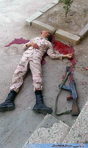 خودکشی هولناک سرباز وظیفه در خاش + عکس (+۱۸)