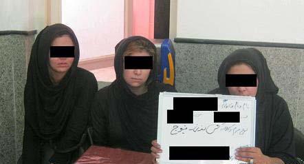 دستگیری دختران خوش تیپ دزد کرجی + عکس سارقین