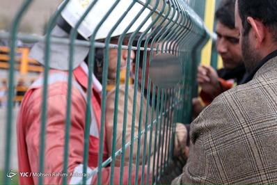 خودکشی نافرجام مرد در مشهد + تصاویر