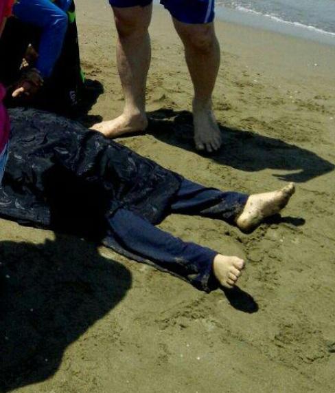 مرگ دردناک زن ۲۵ ساله جویباری با غرق شدن در دریا + تصاویر