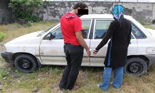 زن و شوهر جوانی که شبانه به سرقت می رفتند+عکس