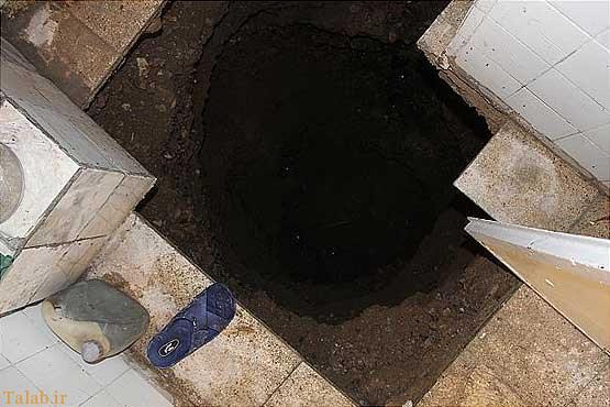 چاه حمام زن جوان تهرانی را بلعید + تصاویر