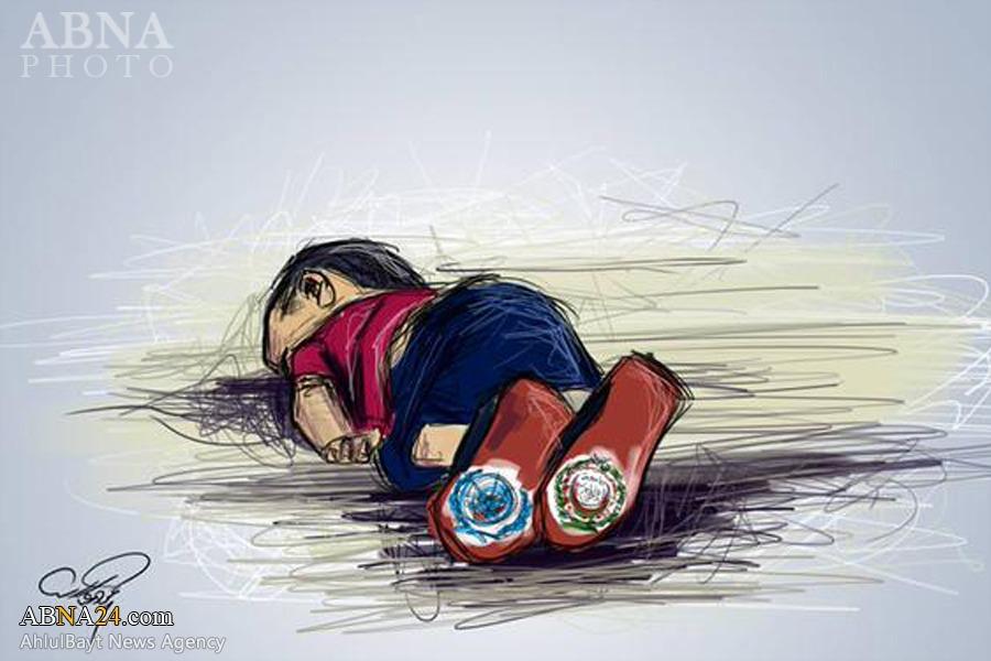 تصویرمرگ کودک ۳ساله سوریه جهان را تکان داد + تصاویر