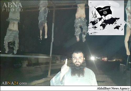 جنایت هولناک و وحشیانه جلاد داعش درحویجه + تصاویر