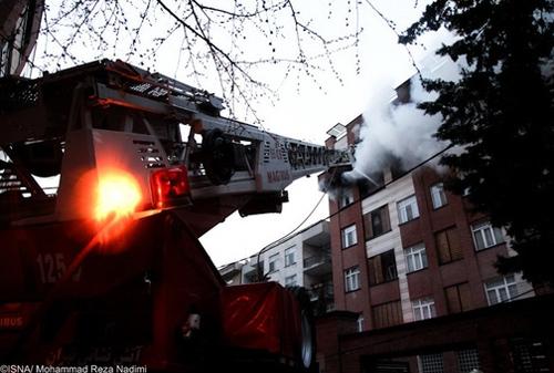 انفجار هولناک منزل مسکونی در قیطریه تهران+تصاویر