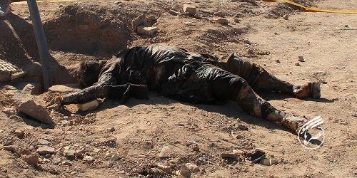 کشف یک جسد در کانال فاضلاب زاهدان+عکس ۱۶+