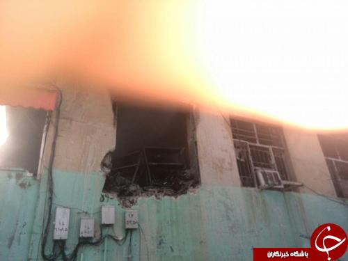 زن بیمار در میان شعلههای آتش بیمارستان بزارجان جان باخت + تصاویر