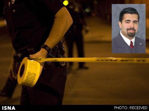 شهرداری که به ضرب گلوله همسرش کشته شد + عکس
