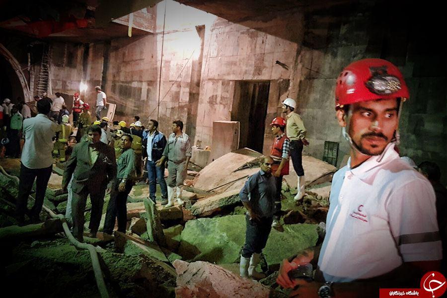 جزییات ریزش تونل مترو کیانشهر از زبان شاهد عینی / اسامی کشته شدگان اعلام شد + تصاویر