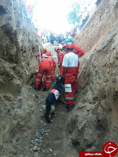 کشف جسد جوان ۲۷ ساله توسط سگها در کانال فاضلاب + تصاویر