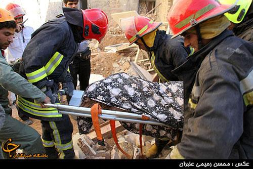 مرگ دردناک زن جوان زیر خروارها خاک + تصاویر