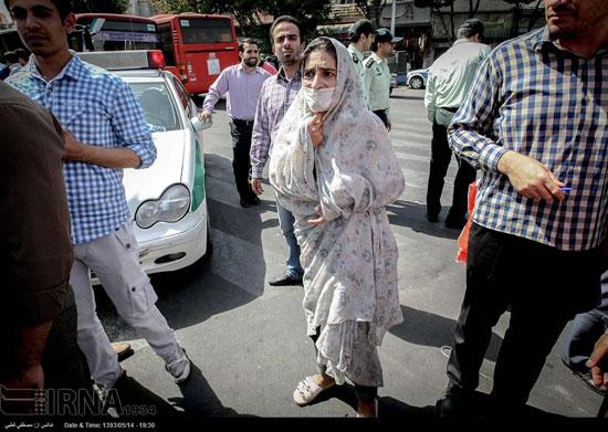 تصاویر جدید از پاتک پلیس به مالخران بازار مولوی