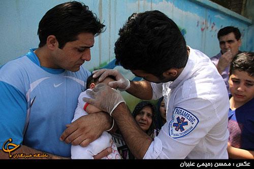 حادثه ای تلخ برای اولین مسافران تابستانی در مشهد + تصاویر
