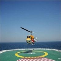 سقوط مرگبار بالگرد شرکت نفت در دریای خزر + عکس محل سقوط و اسامی قربانیان