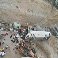 واژگونی اتوبوس با ۲۸ کشته و ۱۹ زخمی در فارس + اسامی مجروحان و کشته شدگان