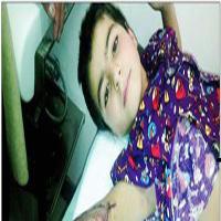قطع شدن دست کودک ۱۰ ساله شوشتری از مچ در مدرسه + عکس