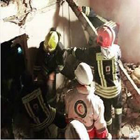 انفجار شدید در اهواز |تخریب صددرصدی چندین ساختمان در مرکز شهر + عکس
