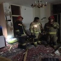انفجار کپسول گاز سفری در منزل مسکونی در تهران + تصاویر