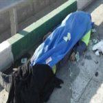 مرگ دردناک پاکبان |پاکبانی که جسدش در کنار خیابان مانده بود + تصاویر