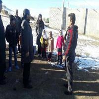 معلم فداکار مشگین شهری ناجی دانش آموزان شد + عکس