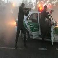 تعقیب و گریز هالیوودی پلیس با دزد خودرو مزدا در جنوب تهران + تصاویر