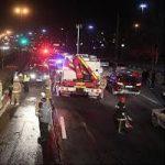 تصادف شدید خواننده جوان پاپ در اشرفی اصفهانی تهران + عکس