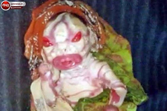 تولد یک نوزاد وحشتناک