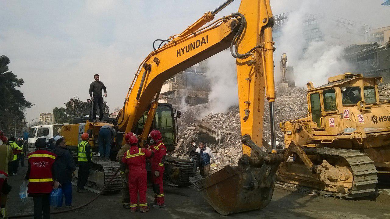 حادثه ریزش ساختمان پلاسکو