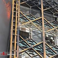 ماجرای خروج معجزه آسای یک آتش نشان از زیرآوار ساختمان پلاسکو