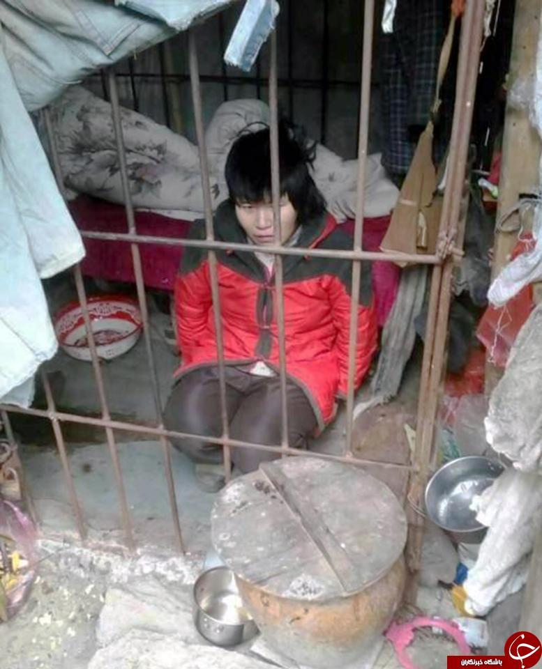 زندانی کردن زن میانسال