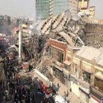 جزییات حادثه پلاسکو از زبان سخنگوی سازمان آتشنشانی + صحنه های تأثر برانگیز