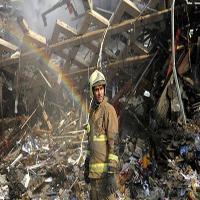 آیه تامل برانگیز قرآنی که در آتش پلاسکو نسوخت! + عکس