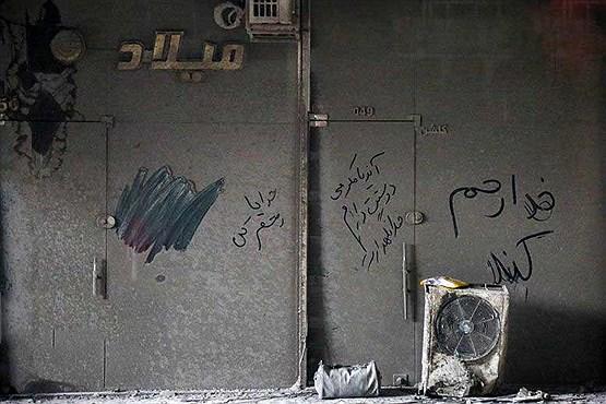 قربانیان گرفتار زیر آوار پلاسکو