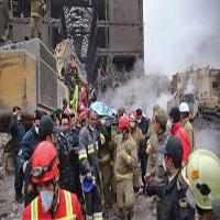 هشتمین روز حادثه پلاسکو |تاکنون پیکر ۱۴ آتش نشان از زیر آوار خارج شده است