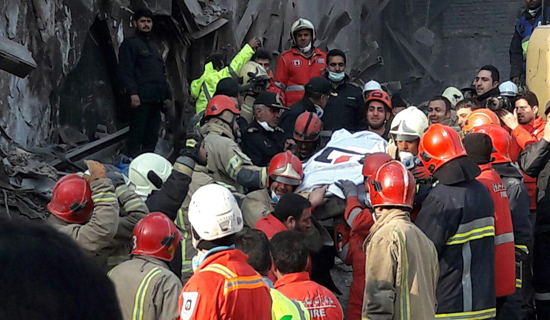 هفتمین روز حادثه پلاسکو