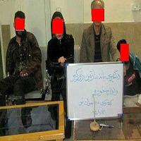 زن شیک پوش در مخفیگاه باند خطرناک شرق تهران چه می کرد +عکس