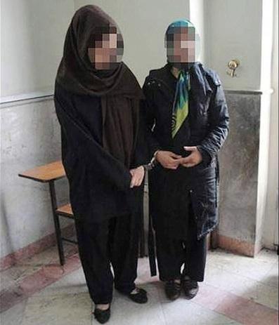 عشوه گری 2 زن در مشهد