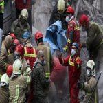 پیکر بی جان نگهبان ۳۸ ساله حادثه پلاسکو پیدا شد + عکس