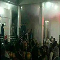 آتش سوزی در تالار عروسی ۱۰ میهمان را روانه بیمارستان کرد +عکس